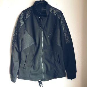 Brooklyn Standard Cotton & Leather Jacket